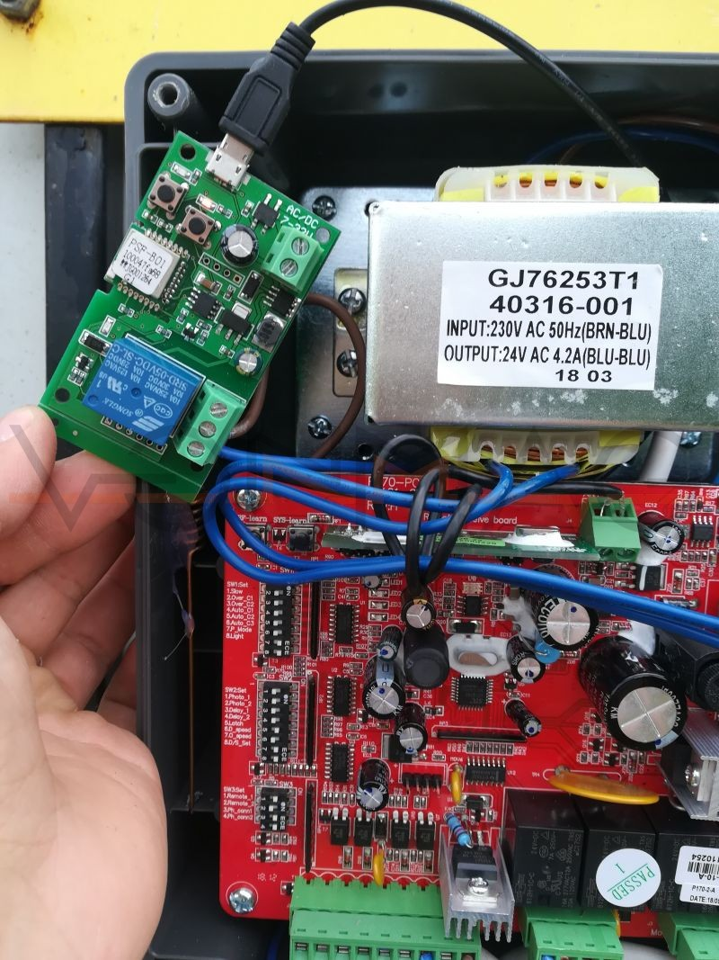 Poza cu Smart N1 WiFi gate opener, adaugata de Andrei Valentin Negrei